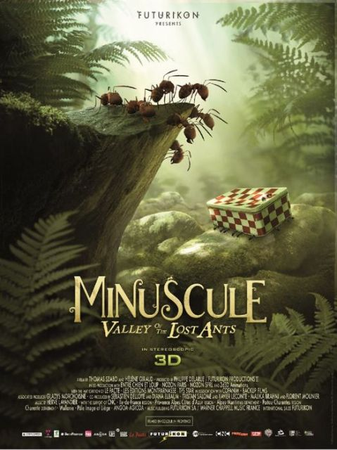 «Букашки 3D», фр. «Minuscule – La vallée des fourmis perdues», англ. «Minuscule: Valley of the Lost Ants»