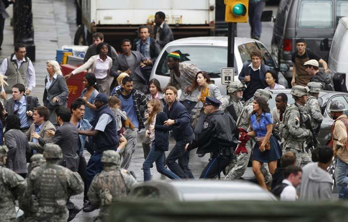 Зомби-экшен «Война миров Z» (World War Z) с Брэдом Питтом (Brad Pitt) выйдет в стерео 3D
