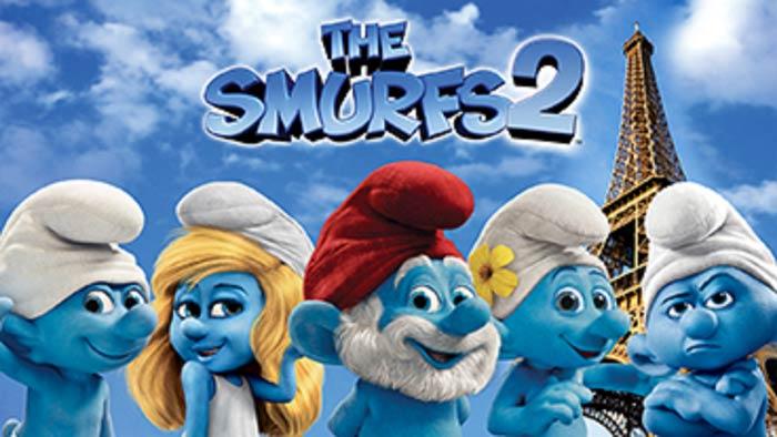 Трёхмерные анимационные трейлеры на YouTube 3D: «Смурфики 2» (The Smurfs 2)