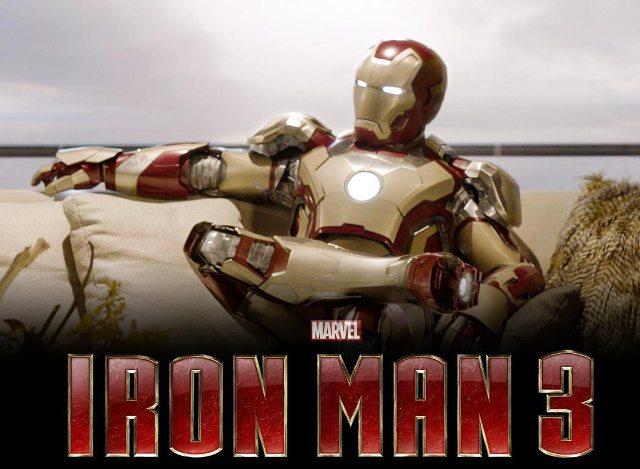 3D-картина «Железный человек 3»