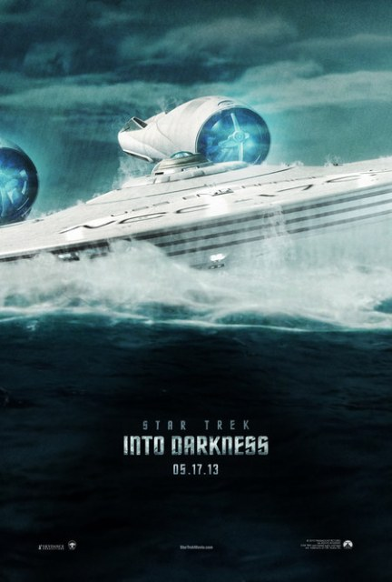 Постер к 3D-фильму «Стартрек: Возмездие»