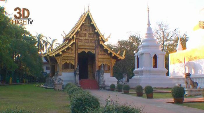 Таиланд на YouTube 3D: трёхмерная прогулка по Чианг-Майу в коллекции Destinations3D