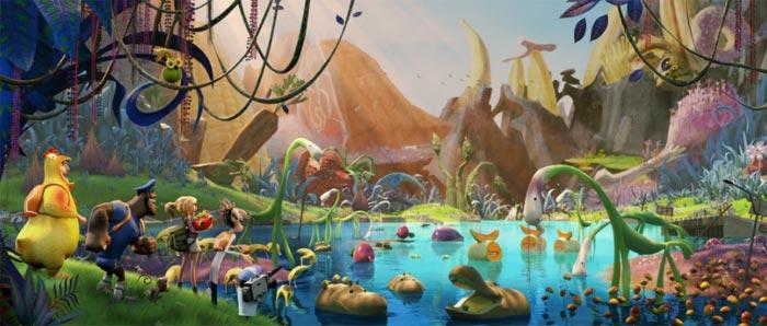 «Облачно, возможны осадки: месть ГМО 3D» (Cloudy 2: Revenge of the Leftovers): первый дублированный трейлер