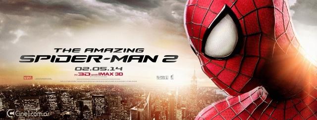 Премьера 3D-ленты «Новый Человек-паук 2» в России назначена на 1 мая 2014 года
