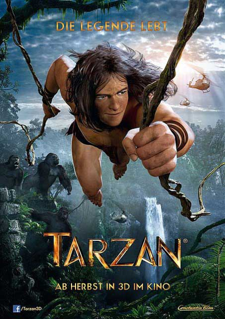 Постер к 3D-картине «Тарзан»
