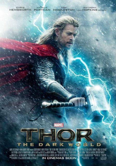 Постер к 3D-фильму «Тор: Царство тьмы»