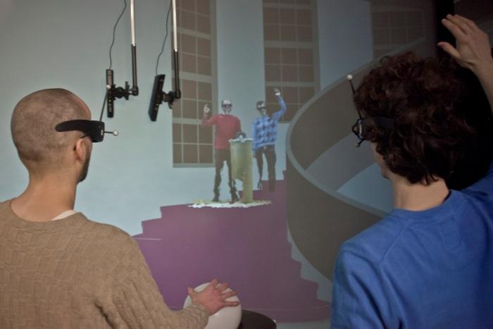 Система виртуальной реальности Virtual Traveler на конференции IEEE Virtual Reality