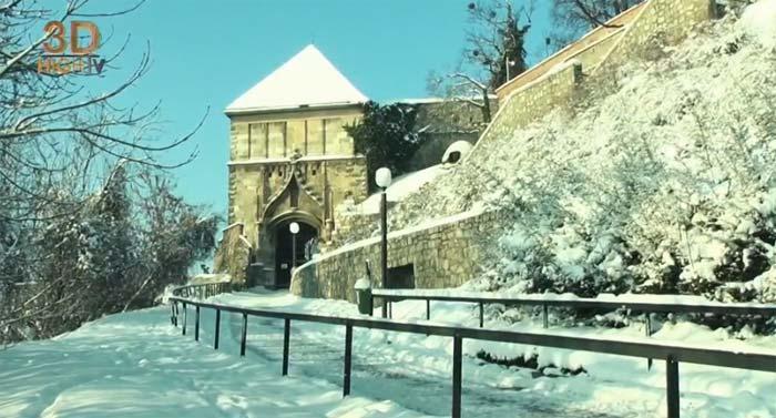 YouTube стерео 3D-прогулка по Братиславе в рамках проекта Destinations 3D