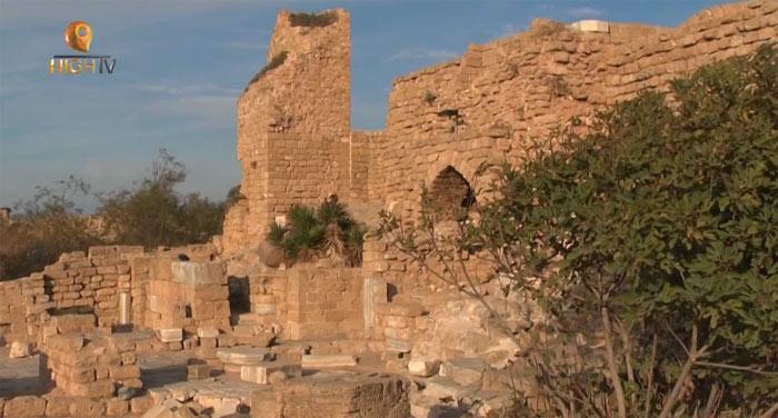 Кесария Палестинская: древние развалины на YouTube 3D в рамках трёхмерного проекта Destinations3D