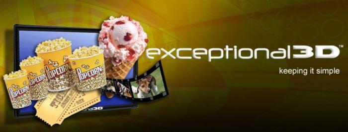 Exceptional 3D: новые автостереоскопические 3D-дисплеи на выставке DSE 2013