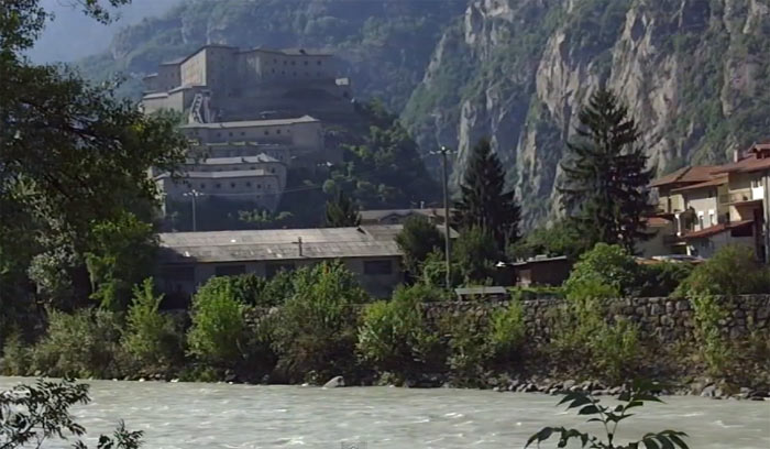 YouTube стерео 3D: итальянская провинция Валле-д'Аоста