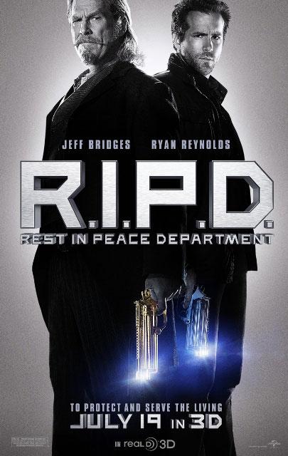 Постер к 3D-фильму «Призрачный патруль»