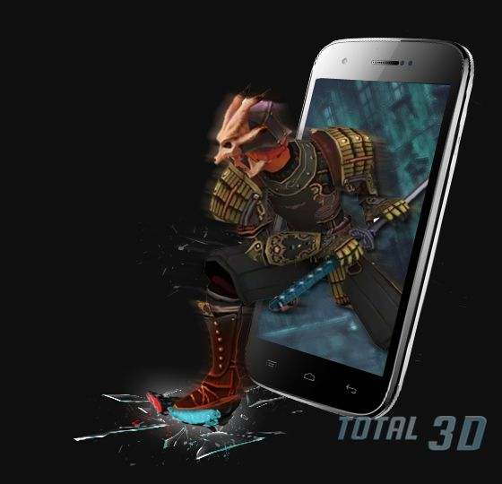 Micromax Canvas 3D A115: индийский стерео 3D-смартфон