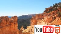 Каменный лес Брайс Каньона в Юте на Youtube 3D