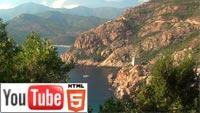 YouTube 3D-трейлер к документалке о живописной Корсике