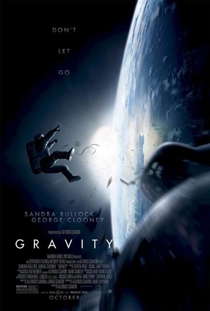 Постер 3D-фильму «Гравитация»