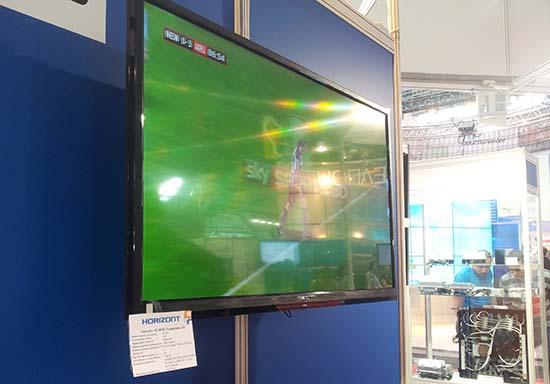 Первый 3D-телевизор Horizont