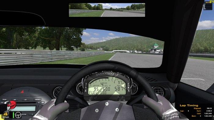 Игровой профиль TriDef 3D для 3D-гонок iRacing