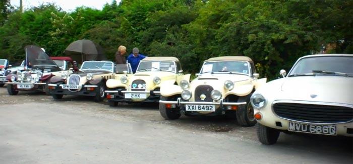 Woodsmoor Classic Car Rally: классические авто на YouTube 3D