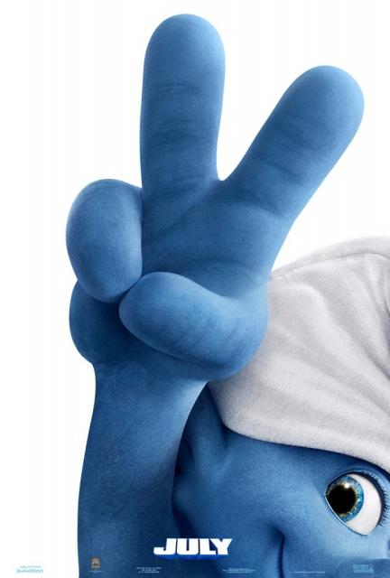 YouTube 3D-трейлеры к мульту «Смурфики 2»