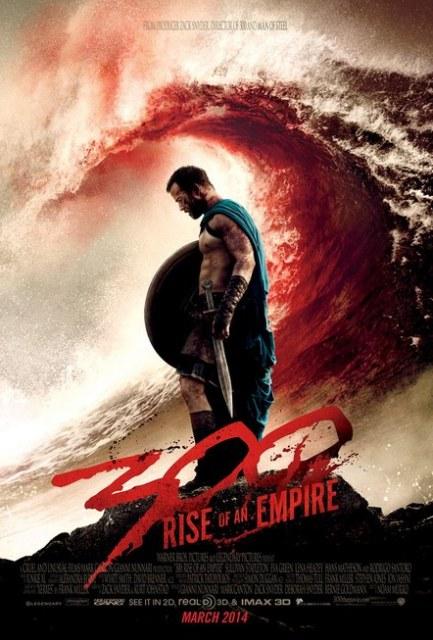 Постер к 3D-фильму «300 спартанцев: Рассвет империи»