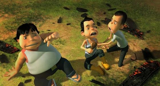 3D-мульт «Виртуальная битва: Атака роботов»