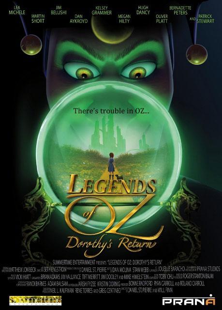 Постер к 3D-мульту «Дороти из страны Оз»