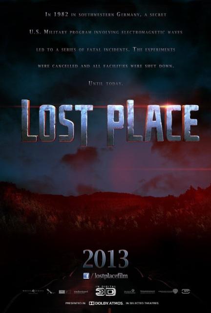 Постер к 3D-ужастику «Проклятое место»