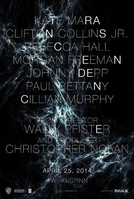 Постер к 3D-триллеру «Превосходство»