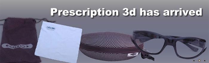 Optics 3D: корректирующие 3D-очки RxMono3D, RxMulti3D и RxMulti3Di уже на рынке