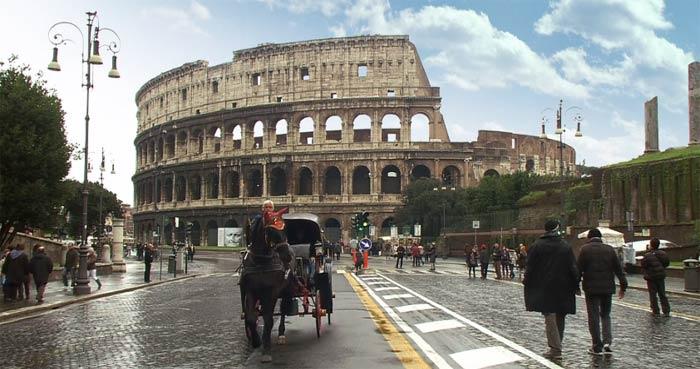 «Рим, Вечный город» (Rome, The Eternal City): яркие краски на YouTube 3D
