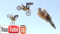 YouTube стерео 3D: свежая спортивная реклама в полном объёме