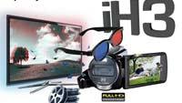Компактная 3D-камера Aiptek 3D iH3: уже на российском рынке