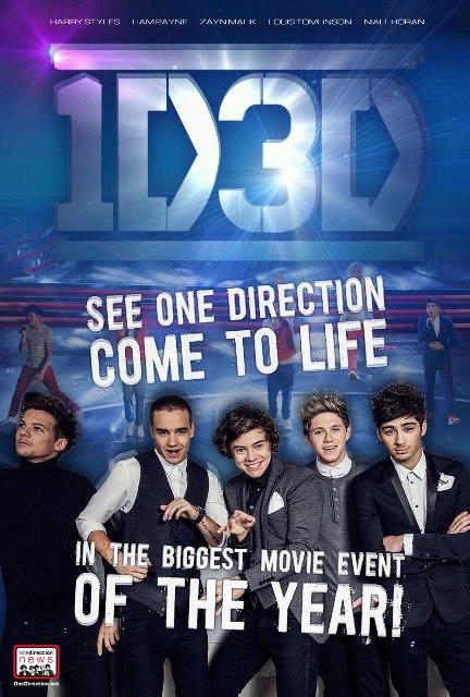Постер к 3D-ленте «One Direction: Это мы»