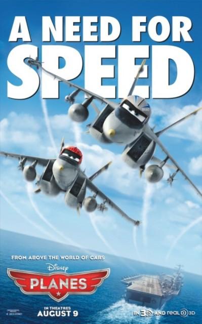 Постер к 3D-мульту «Самолеты»
