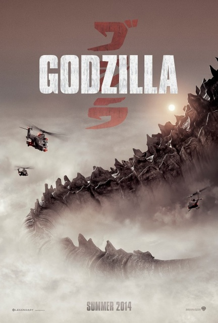 Постер к 3D-картине «Годзилла»