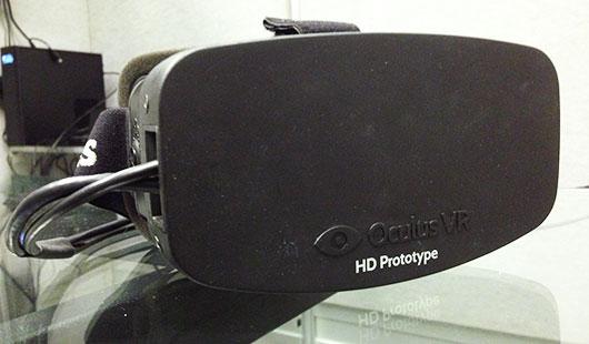 Прототип HD-версии Oculus Rift