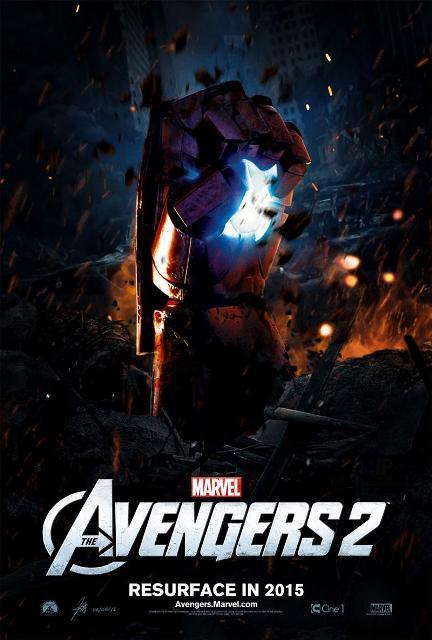 Постер к 3D-боевику «Мстители: Эра Альтрона»
