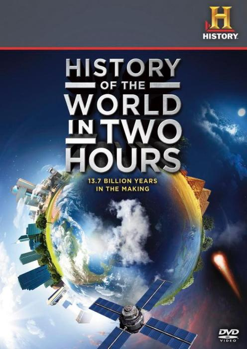 История нашей планеты в двухчасовой документалке на YouTube 3D «История мира за два часа» (History of the World in 2 Hours)