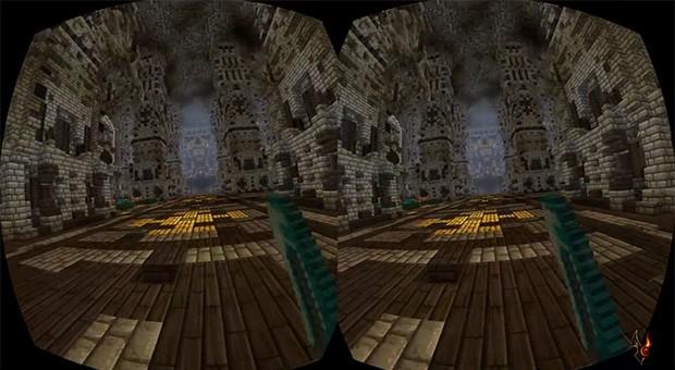 Minecraft на Oculus Rift: первые эксперименты, пока что неофициально