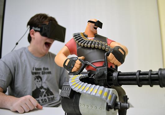 Team Fortress 2, Палмер и Oculus Rift