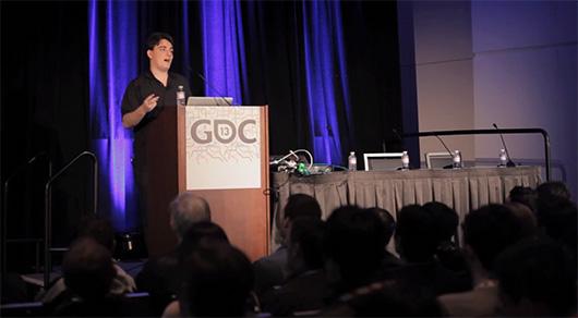 Палмер выступает на Game Developers Conference 2013
