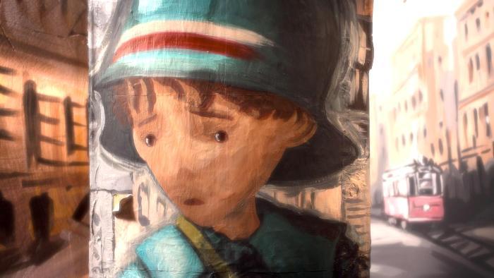 YouTube стерео 3D: первый рисованный 3D-мульт «Маленький почтальон» («Little Postman»)