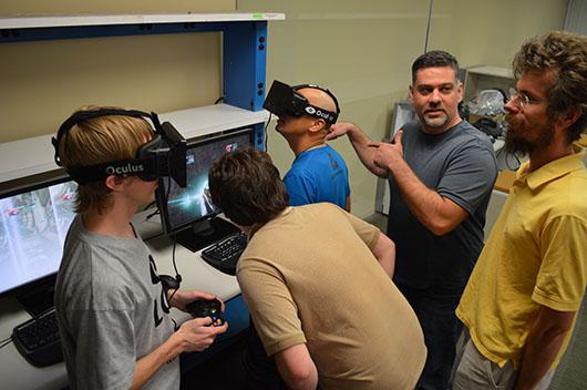 Команда Oculus