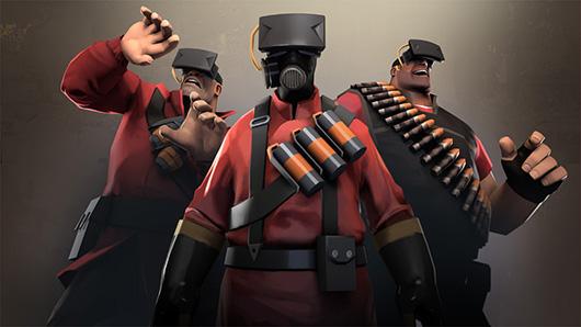 Team Fortress 2 на Oculus Rift