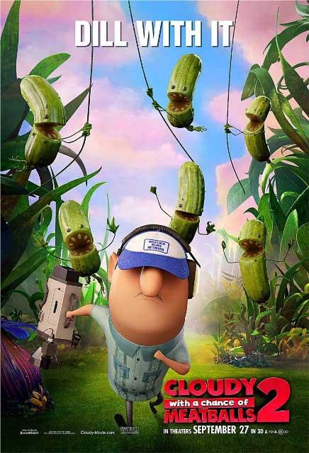 Постер к 3D-мульту «Облачно, возможны осадки: месть ГМО»