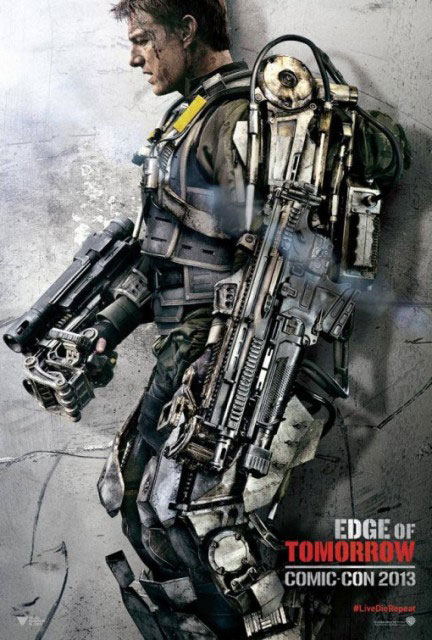 Постер к 3D-боевику «На краю будущего»
