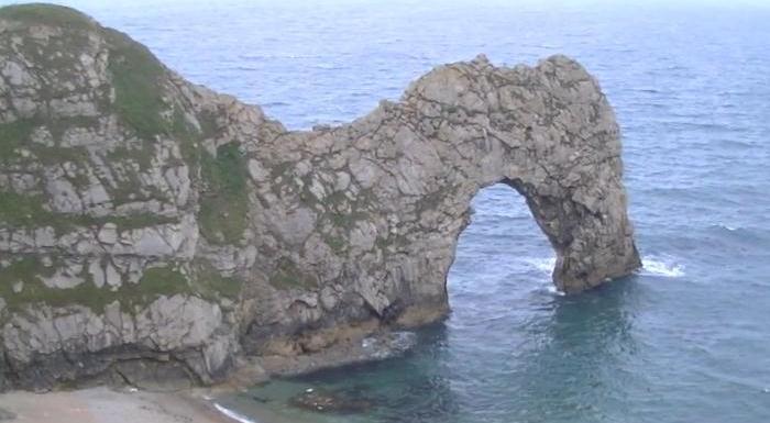Английское графство Дорсет в видеоподборке на YouTube 3D
