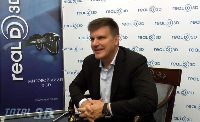 Интервью с Майклом Льюисом, сооснователем, руководителем и CEO компании RealD