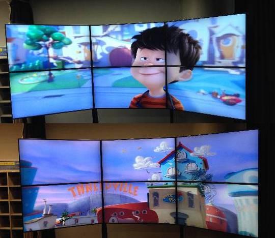 Стерео 3D-видеостена Dimenco и NGC: 12 тысяч пикселей без очков
